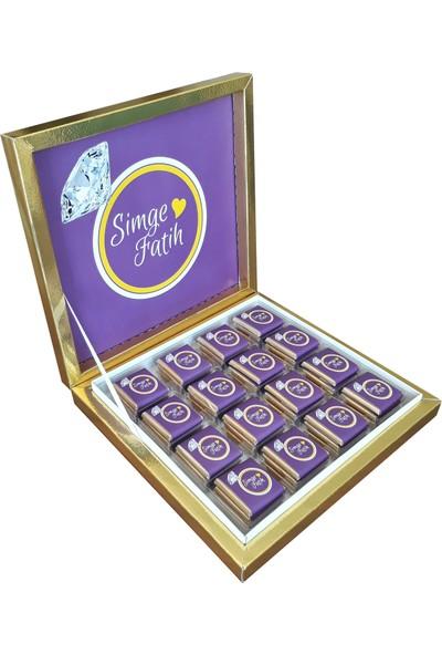 Navrem Nişan Söz Nikah Çikolatası 48 Kutulu