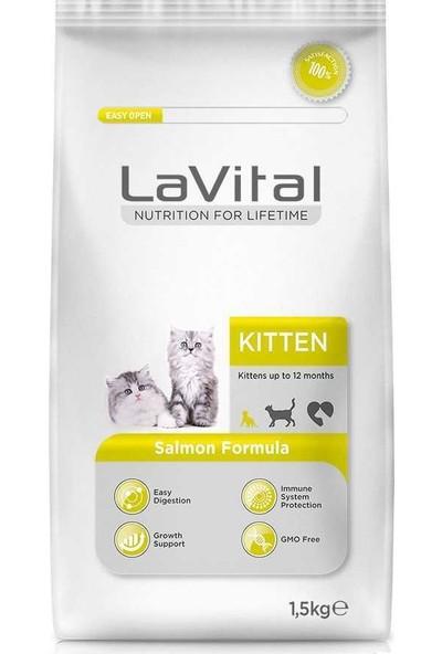 La Vital Somonlu Yavru Kedi Maması 1,5+500 Gr