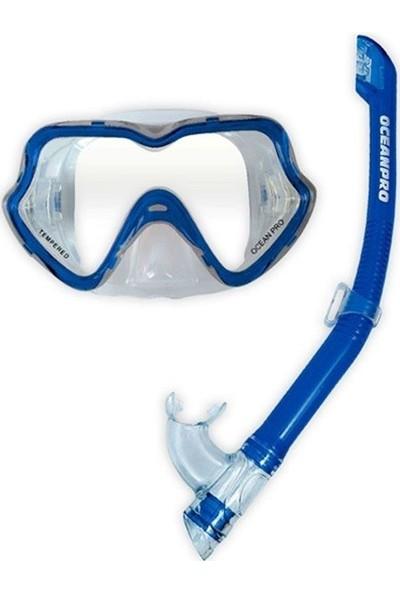 Oceanpro Nıngaloo Maske Şnorkel Çocuk Seti