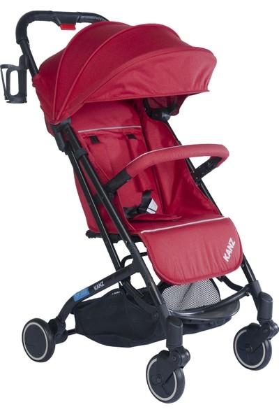 Kanz Check In Bebek Arabası Kırmızı
