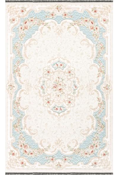 Kaşmir Salon Halı 170x250 Nepal Exclusive 0036 08 Mavi