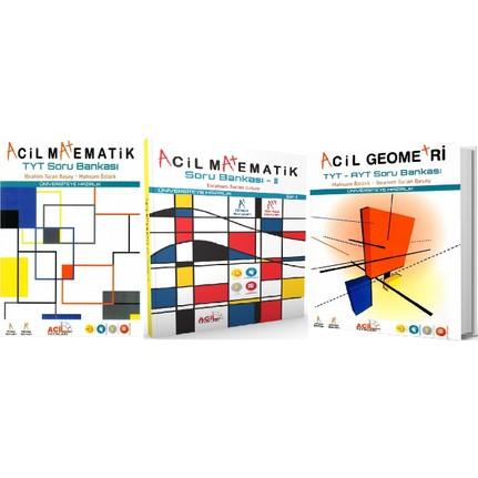 acil yayınları tyt ayt matematik geometri soru seti 2019 fiyatı