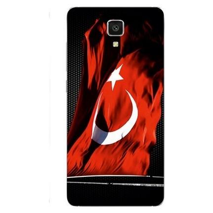 Dalgalanan Türk Bayrağı Kanvas Tablo 4092 Tl Kdv