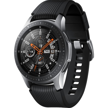 cheap for discount bdff1 b426f Samsung Galaxy Watch (46mm) (Android ve iPhone Uyumlu) Gümüş -  SM-R800NZSATUR (Samsung Türkiye Garantili)