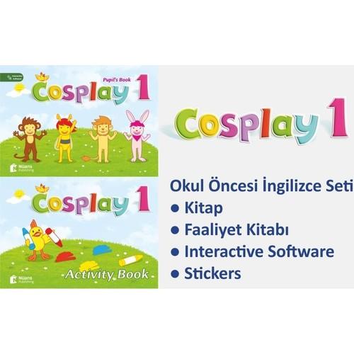 Cosplay 1 Okul öncesi Ingilizce Eğitim Seti Software Fiyatı