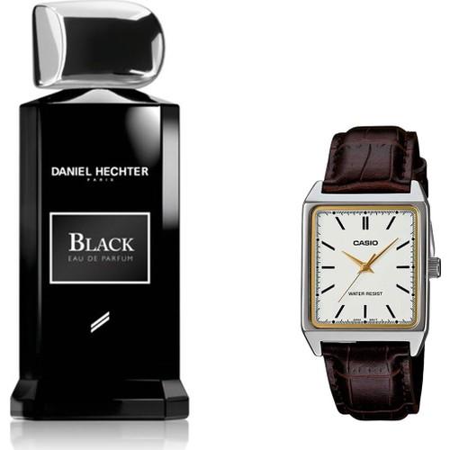 Daniel Hechter Homme Collection Couture Black Edp 100 ml Erkek Parfümü + Casio Mtp V007l 7e2udf Kol Saati