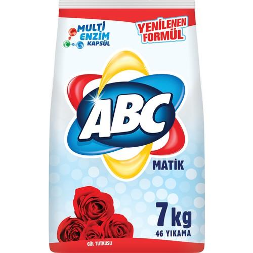 ABC Matik Gül Tutkusu Toz Deterjan 7 Kg