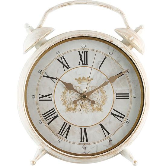 Madame Coco Çalar Saat Görünümlü Duvar Saati