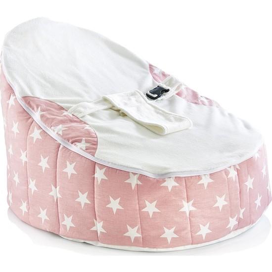 Baby Jem Fasulye Yatak Pembe Yıldız