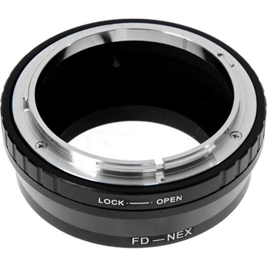 Ayex Sony E Mount Ve Nex İçin Canon Fd Lens Adaptörü