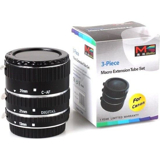 Meike Canon Eos İçin Meike Otomatik Macro (Makro) Af Tüp Autofocus