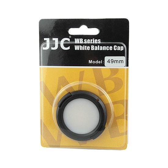 JJC 49 Mm Beyaz Ayar Kapağı White Balance Cap