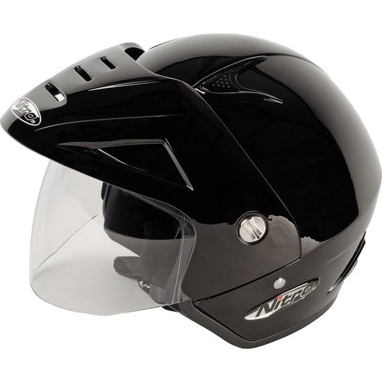 Nitro X512 Yarım Kask Siyah