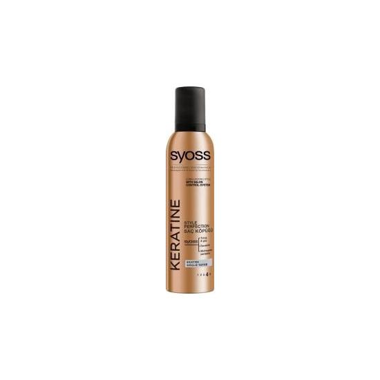 Syoss Keratin Keratinli Güçlü Tutucu Saç Köpük 250 ml