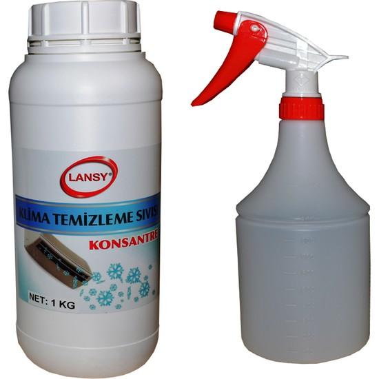 Lansy Klima Temizlik Seti (Temizleme Sıvısı+Temizleme Poşeti)