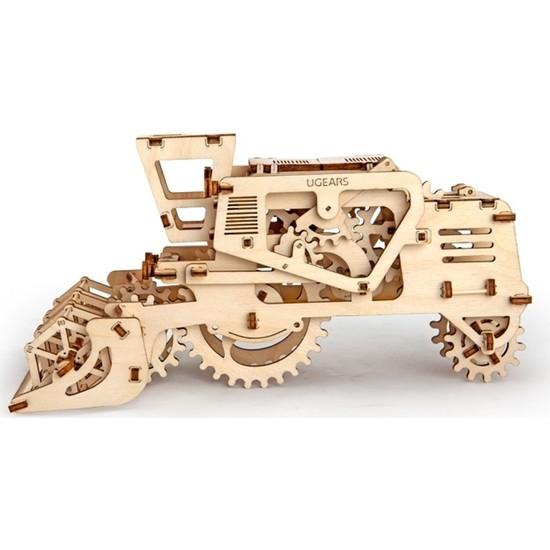 Ugears Ahşap Maket Bicerdover Mekanik (154 Parça)