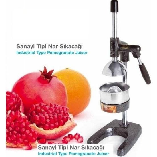 Özlem Sanayi Tipi Meyve Presi Kollu Portakal Nar Sıkma Makinası Aleti