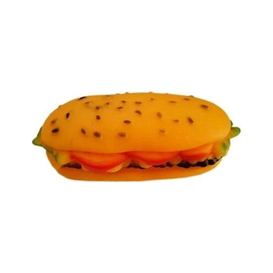 Bmpet Sesli Sandviç Köpek Oyuncağı 14 Cm* 6 Cm