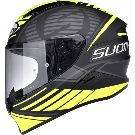 Suomy Speedstar Sp-1 Matt Yellow Kask