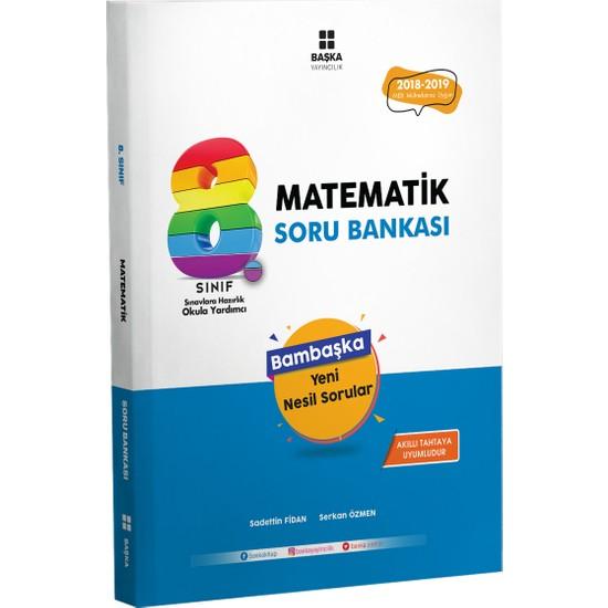 Başka Yayınları 8.Sınıf Matematık Soru Bankası