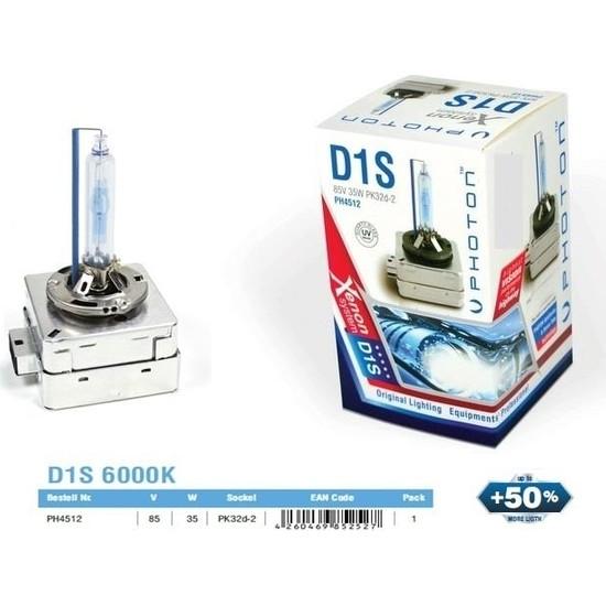 Photon D1S 6000K Xenon Ampül %50 Fazla Işık Ph4512