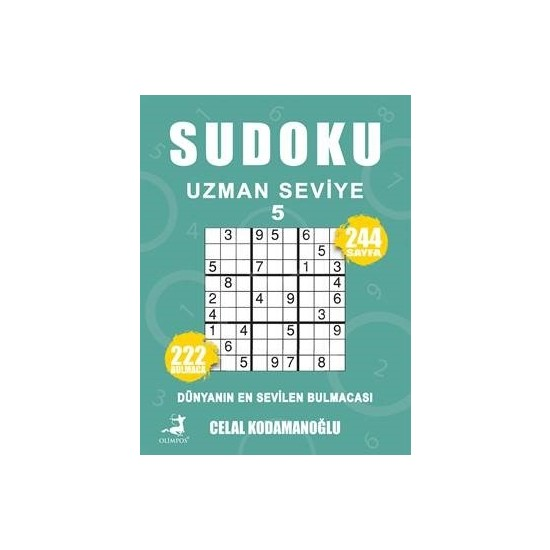 Sudoku Uzman Seviye 5 - Celal Kodamanoğlu