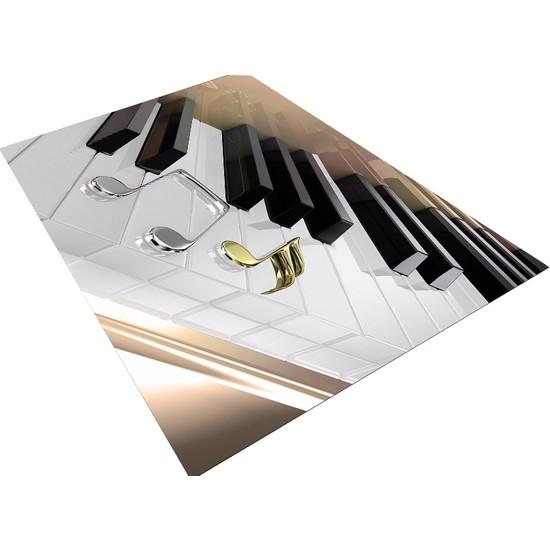 Consept Home 0480 Piano Tuşları Müzik Temalı 3D Çocuk Odası Halısı 120X180