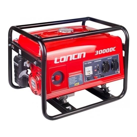 Loncin LC 3000 DC 3 kVa Benzinli İpli Jeneratör