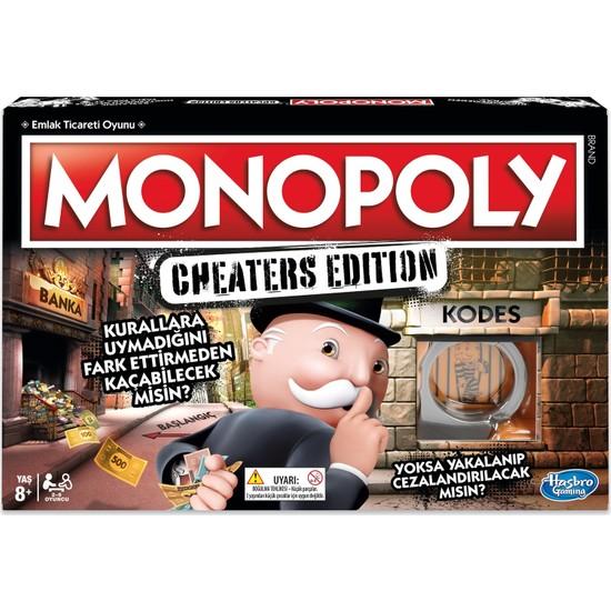 Monopoly Cheater's Edition Kutu Oyunu