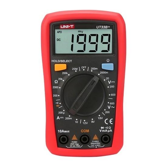 Unı-T UT33B+ Dijital Multimetre