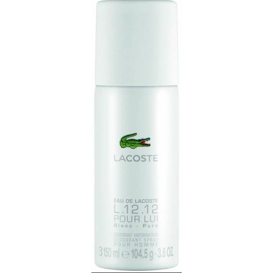 Lacoste L12.12 Blanc Pure Deodorant 150 ml