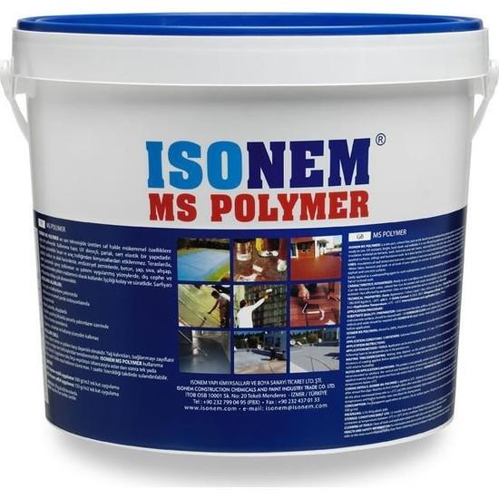 İsonem Ms Polymer Su Yalıtım Boyası 5 Kg
