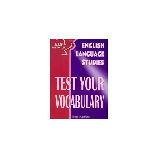 Els Test Your Vocabulary - Nesibe Sevgi Öndeş