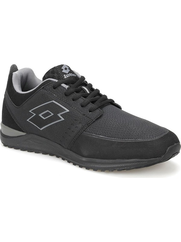 Lotto Auras Amf Siyah Gri Erkek Sneaker Ayakkabı