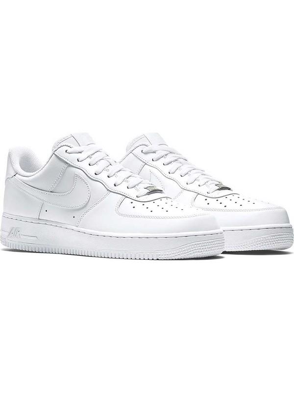 Ajustable Estimar Patrocinar  Nike Air Force 1 07 Erkek Spor Ayakkabı Beyaz Fiyatı