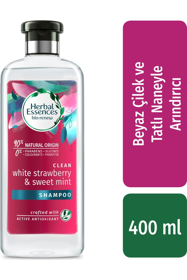 Herbal Essences White Strawberry and Mint Extract Shampoo