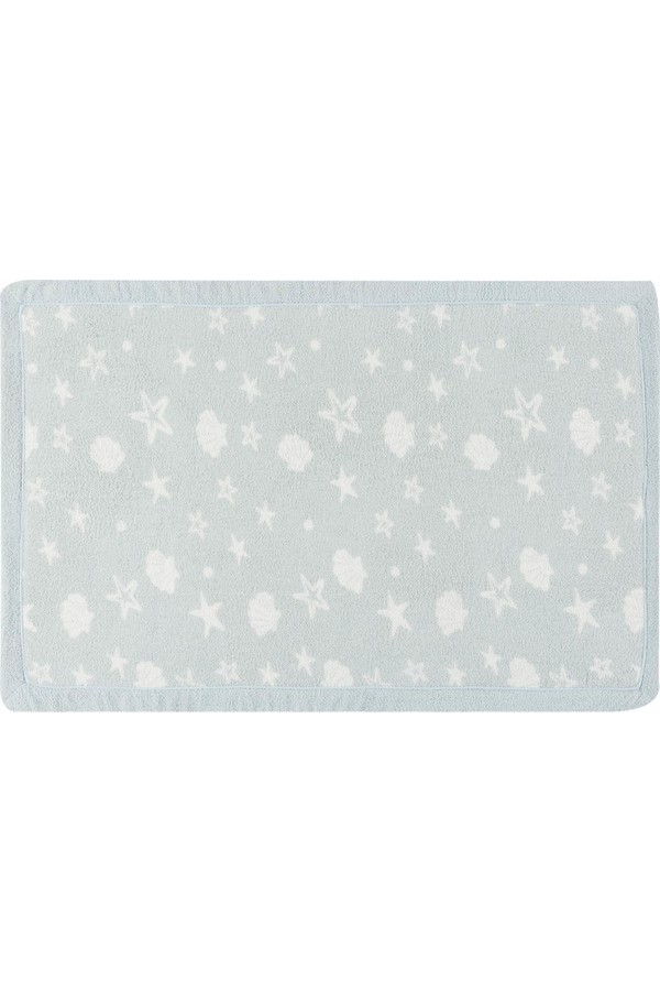 Madame Coco Light Blue Bath Mat