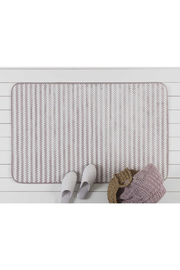 Madame Coco Purple Bath Mat