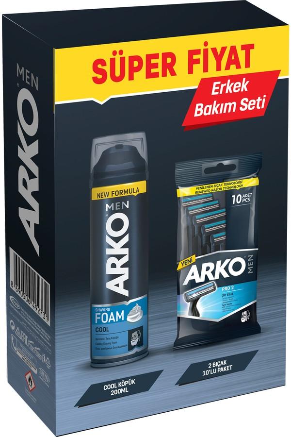 Arko T2 Pro Men's Shaving Set