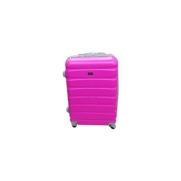 12b0dec1416a3 Boyraz Abs Orta Boy 4 Tekerlekli Valiz,Seyehat Çantası,Bavul,Kırılmaz  Plastik Tekerlekli