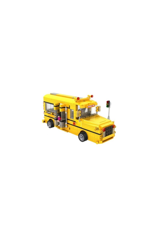Cogo City School Bus 576 Pieces