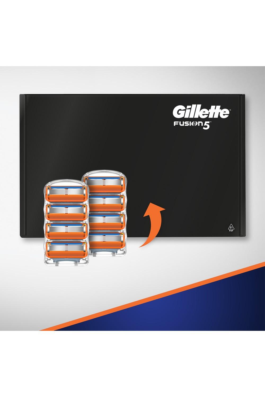 Gillette Fusion Razor Blades and Shaving Gel