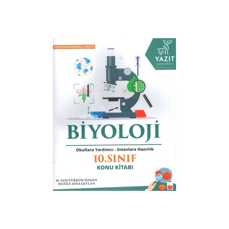 Yazıt 10sınıf Biyoloji Konu Kitabı Yeni 2019 Hatice Fiyatı