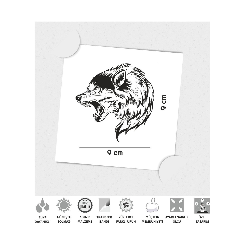 Cinar Extreme Vahsi Kurt Sticker Fiyati Taksit Secenekleri