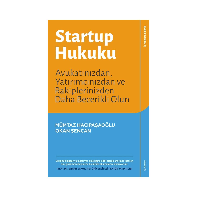 Startup Hukuku Mümtaz Hacıpaşaoğlu Okan şencan Fiyatı