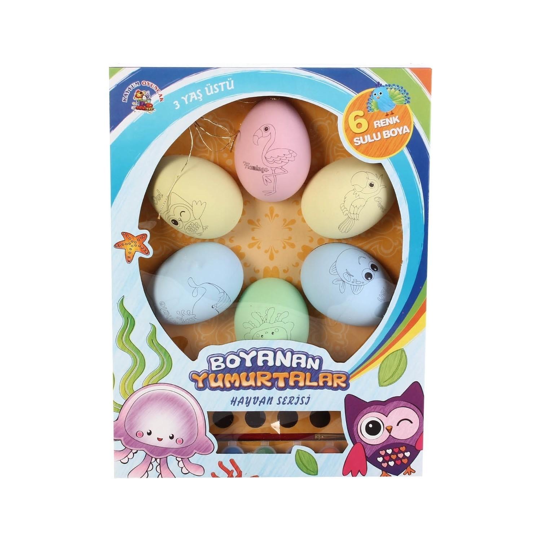 Kayyum Oyuncak Boyanan Yumurtalar Yumurta Boyama Seti Fiyatı