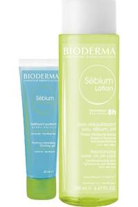 Bioderma Sebium Lotion and Sebium Foaming Gel