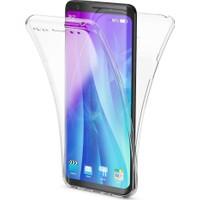 Microsonic Samsung Galaxy S9 Plus Kılıf 6 Tarafı Tam Full Koruma 360 Clear Soft Şeffaf