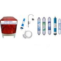 Aqua Kabinli Tezgah Altı Reverse Osmosys Su Arıtma Cihazı Lg Chem 80 Gpd Orjınal Ürün