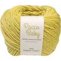 Pacco Baby Hardal %100 Pamuk El Örgü İpi
